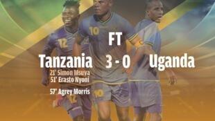 Timu ya Taifa ya Tanzania, Taifa Stars imefuzu kucheza fainali baada ya miaka 39.