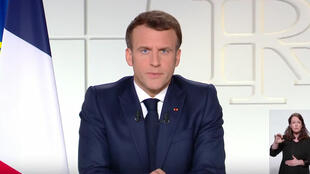 France - Emmanuel Macron allocution mars 2021