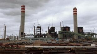 Le site de construction de la centrale à charbon de Medupi coûte beaucoup plus que prévu à l'entreprise Eskom.