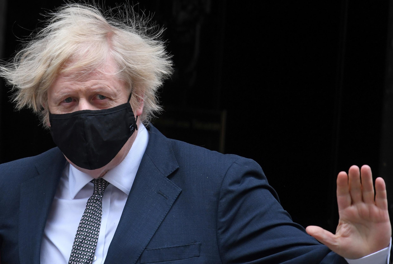 El primer ministro británico Boris Johnson, el 24 de marzo de 2021 en Londres, Reino Unido