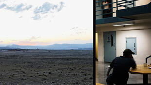 Image du webdocumentaire « Prison Valley », de Philippe Brault et David Dufresne, extraites de leur blog.