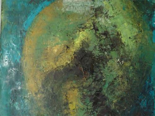 Psychotherapist Pascale Jacquemond-Collet - Feuille Bleue, Blue Leaf