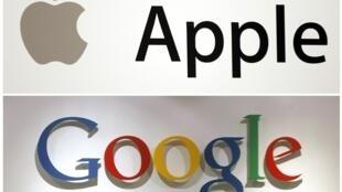 Apple a progressé de 84% en un an alors que Google a perdu 2% de sa valeur.