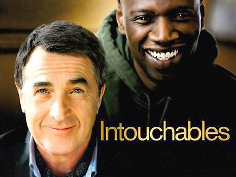 """Cartaz do filme """"Intocáveis"""", sucesso de bilheteria na França e no exterior."""
