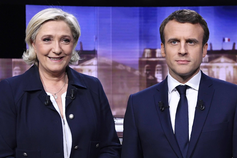 Marine Le Pen et Emmanuel Macron se sont affrontés, le mercredi 3 mai 2017, pour le débat d'entre deux tours.
