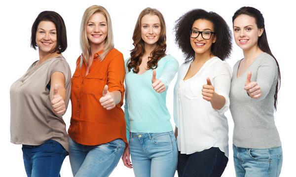 Las mujeres tienen diversas morfologías pero actualmente no corresponden con las tallas ofrecidas por la industria textil.