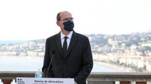 نخست وزیر فرانسه در مراسم یادبود قربانیان حمله تروریستی شهر نیس