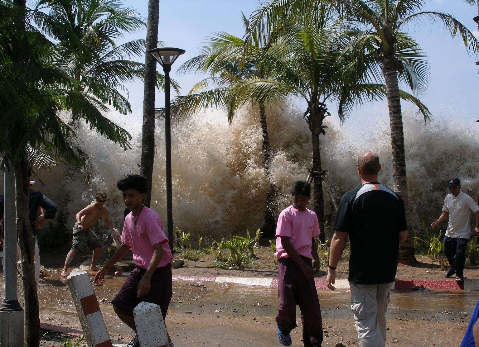 Tsunami - Ao Nang - Thaïlande