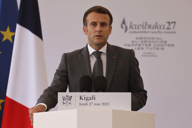 Macron Ruanda