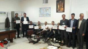 تحصن معلمان در تربت حیدریه