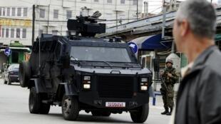 Les affrontements ont duré toute la journée à Kumanovo, une ville du nord de la Macédoine.