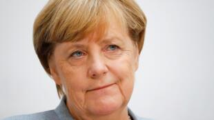 La canciller alemana Angela Merkel repite un cuarto mandato.