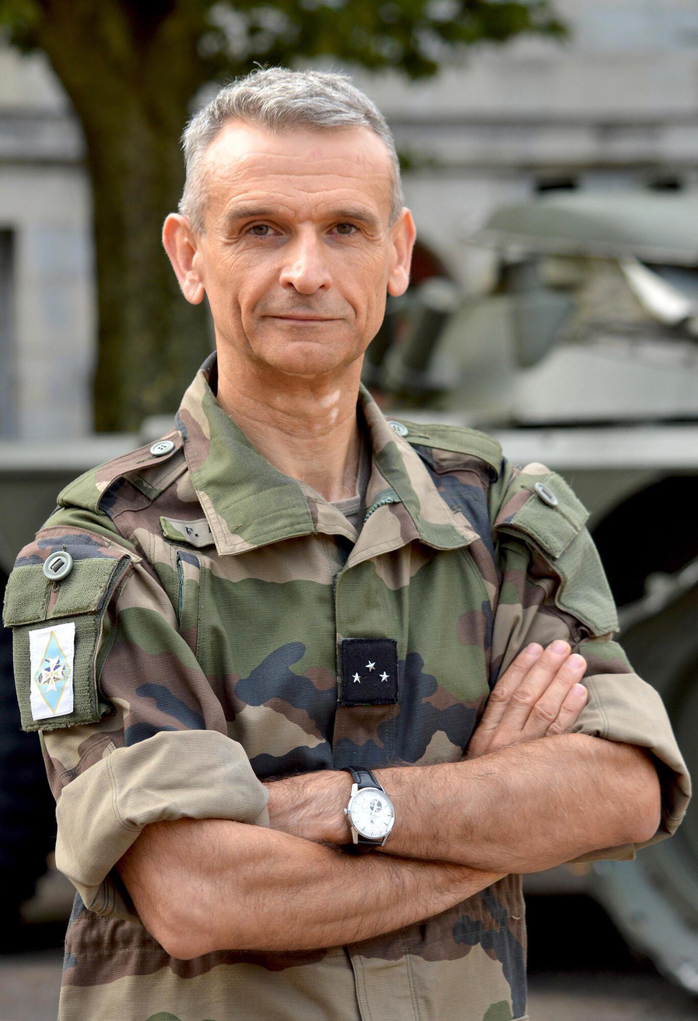 Le Général Frédéric Blachon est le commandant de la force Barkhane au Mali.