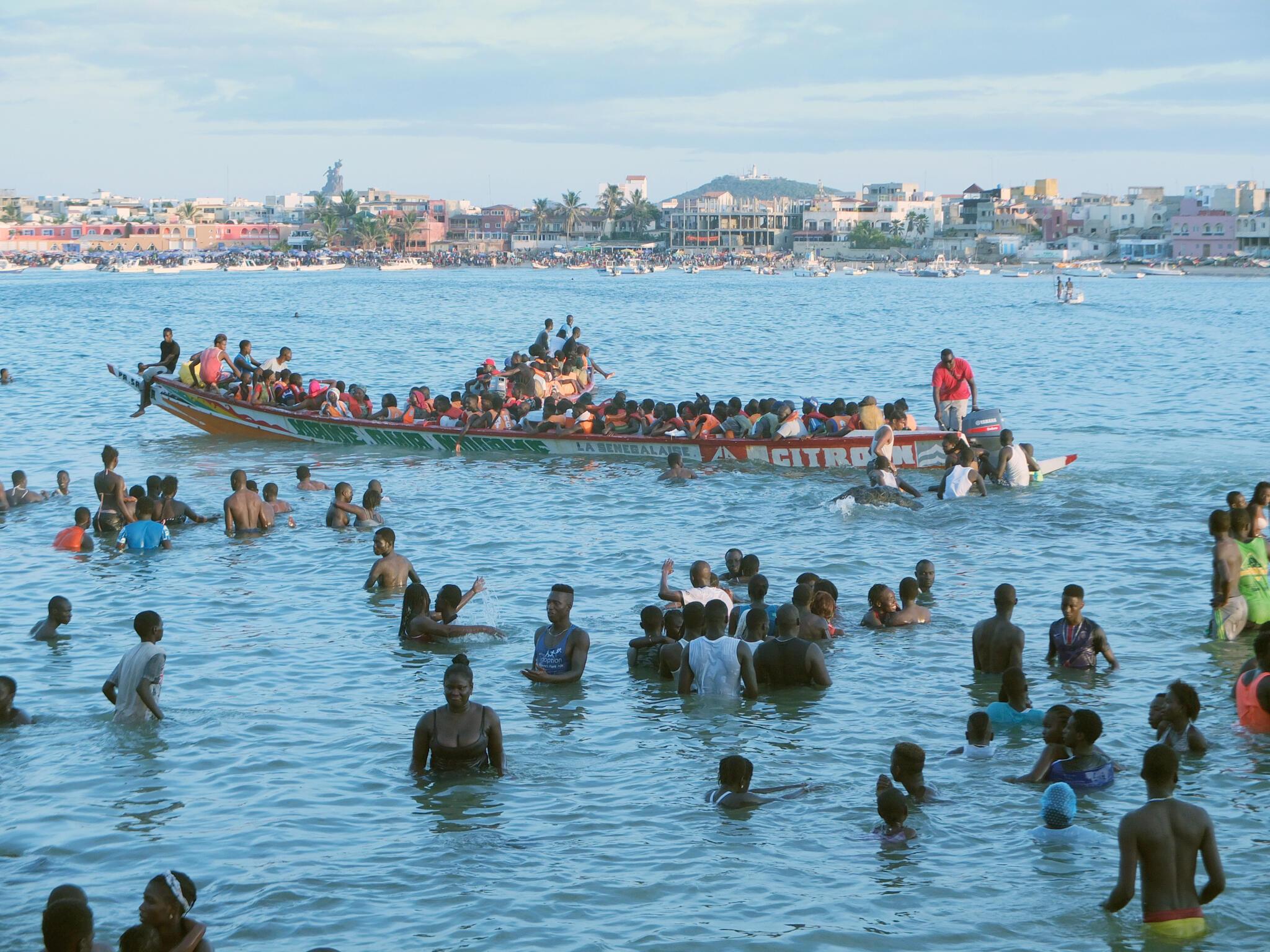 L'île de Ngor, l'un de lieux de détente favoris des habitants de Dakar, au Sénégal.