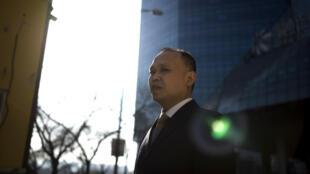 中国著名维权律师余文生资料图片