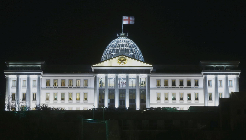 Президентский дворец в Тбилиси 19 марта 2016