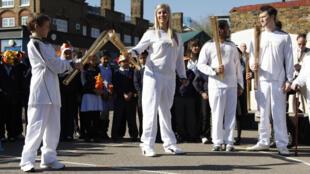 Cerimônia nesta segunda-feira, em Londres, para anunciar a rota e os participantes do percurso da tocha olímpica.