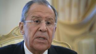 Waziri wa mambo ya nje wa Urusi Sergei Lavrov