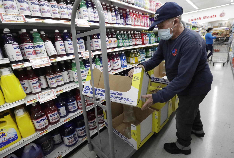 Supermarché Etats-Unis