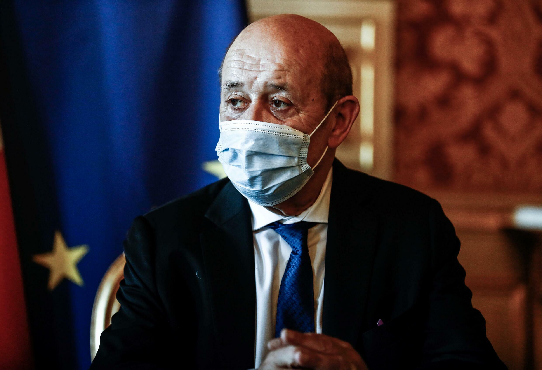 Jean-Yves Le Drian, ministro francés de Relaciones Exteriores, en París el 26 de julio de 2021