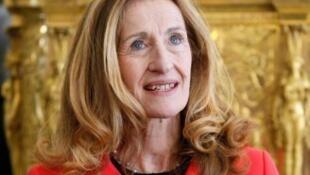 Nicole Belloubet, la nouvelle garde des Sceaux du gouvernement Philippe II, le 14 mars 2013 à l'Elysée, alors qu'elle venait d'être nommée au Conseil constitutionnel.
