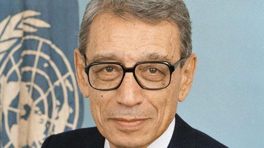 Tsohon magatakarda na MDD, Boutros Boutros-Ghali