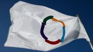 Le drapeau de la francophoie