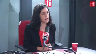 Manon Aubry sur RFI le 19 juillet 2019.