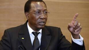 Shugaban kasar Chadi  Idriss Deby