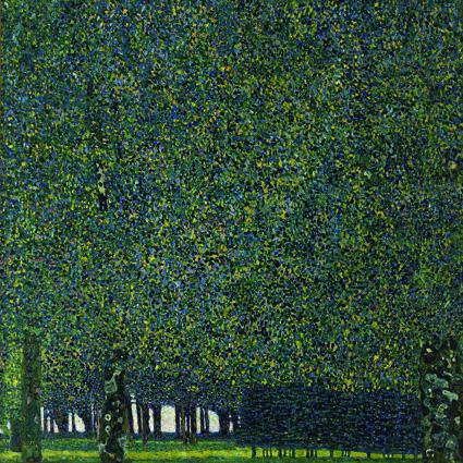 Густав Климт, Парк. 1910 или ранее.