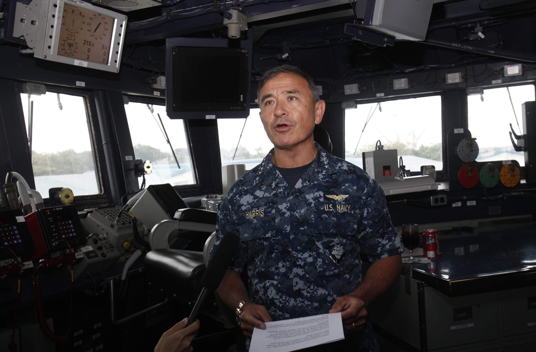 Đô đốc Harry Harris Jr, Tư lệnh Hạm đội Thái Bình Dương - REUTERS /Edgar Su