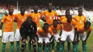 L'équipe de Côte d'Ivoire lors de la CAN 2015.