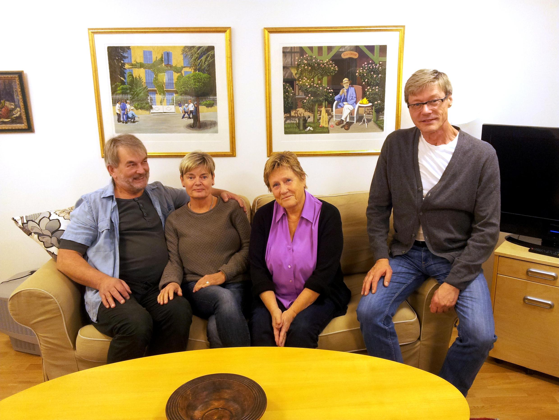 La maison de retraite «Arc en ciel»  accueille une cinquantaine de résidents, seuls ou en couple.