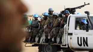 Dakarun wanzar da zaman lafiya na Majalisar Dinkin Duniya a Darfur.