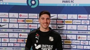 Rafael Fonseca, futebolista português que actua no Amiens SC.