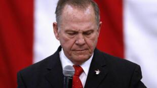 Roy Moore, accusé de plusieurs agressions sexuelles sur mineures et candidat Républicain aux élections sénatoriales de l'Alabama.
