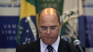 Rio de Janeiro's Governor Wilson Witzel, pictured in September 2019, has tested positive for coronavirus