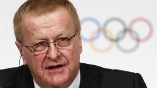O vice-presidente do Comitê Olímpico Internacional (COI), o australiano John Coates.