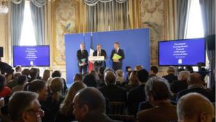 法國教育境外發展新措施出台 2019年10月3日 周四 巴黎 / Quai d'Orsay présente les mesures pour développer l'enseignement français à l'étranger. le 03 octobre 2019 à Paris
