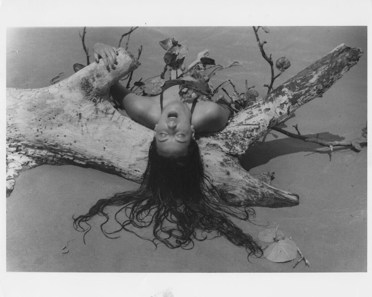 Fotografía de Ruth Rivera Martín, la hija de Diego Rivera.