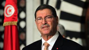 Le Premier ministre tunisien Habib Essid.