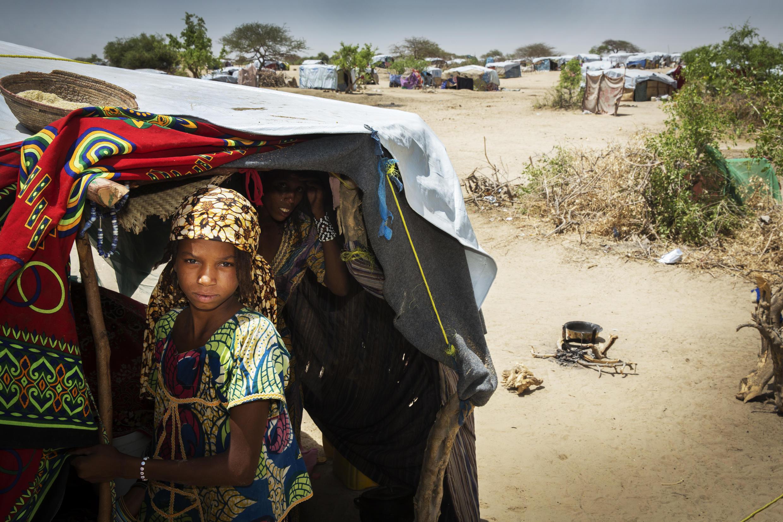 Le camp de Kabelawa à 2 heures de Diffa vers le nord-est accueille 2 500 déplacés nigériens évacués des îles du lac Tchad.