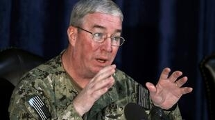 جان میلر، فرمانده ناوگان پنجم نیروی دریایی آمریکا