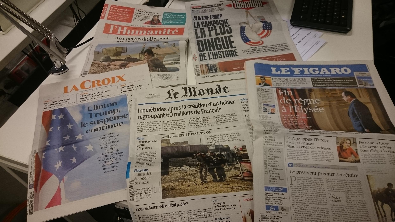 Diários franceses 02.11.2016
