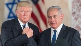 دونالد ترامپ، رئیس جمهوری آمریکا و بنیامین نتانیاهو، نخست وزیر اسرائیل برای مقابله با ایران هم پیمان شده اند