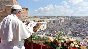 Papa Francisco durante tradicional missa no Domingo de Páscoa (16).