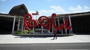 Les passagers se font rares à l'aéroport de Bali.