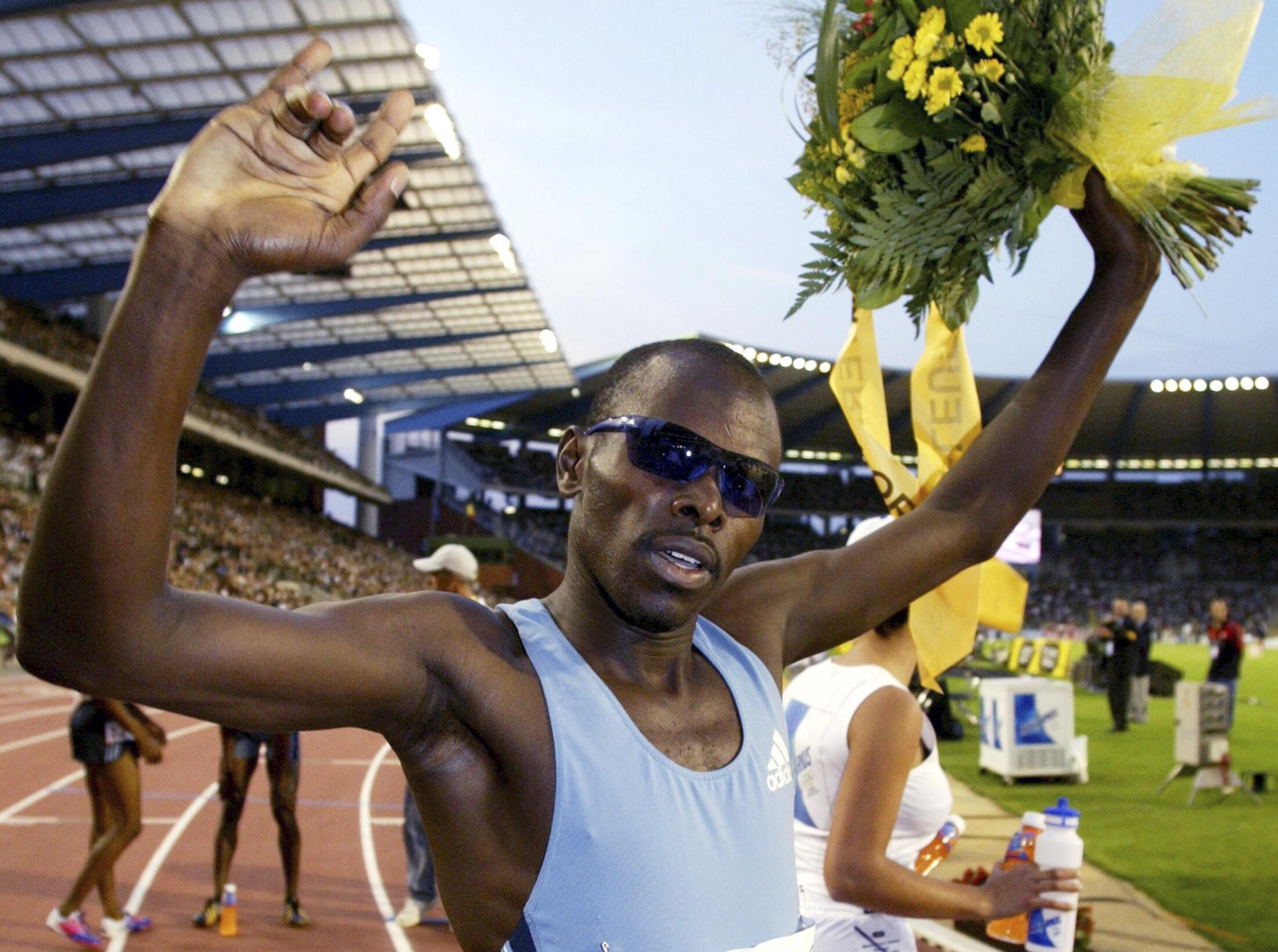 Kenya's Wilfred Bungei in Brussels