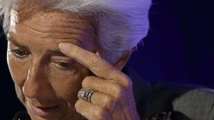 Christine Lagarde, la directrice générale du Fonds monétaire international.