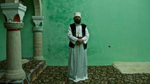 Murtasar, derviche bektachi à Melan en Albanie